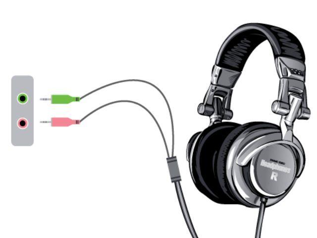 Kết nối tai nghe với máy tính
