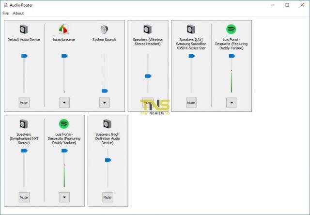 Phần mềm Audio Router