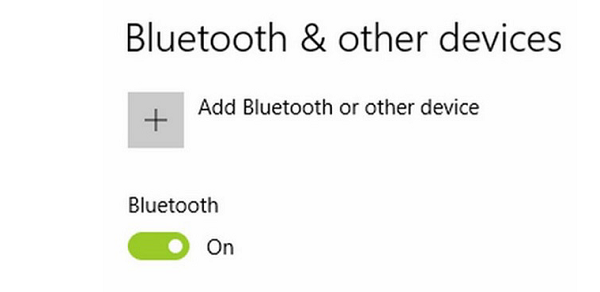 Chọn Add bluetooth other devices.