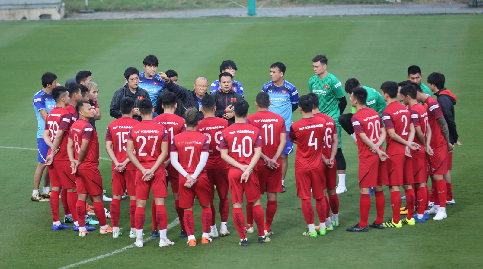 Thành viên đội tuyển bóng đá Việt Nam