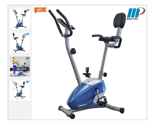 Xe đạp tập luyện thể dục rất tốt cho sức khoẻ