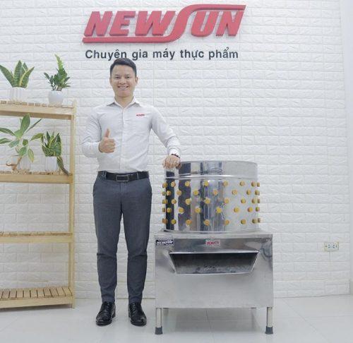 NEWSUN là đơn vị cung cấp máy vặt lông gà lông vịt tốt nhất trên thị trường